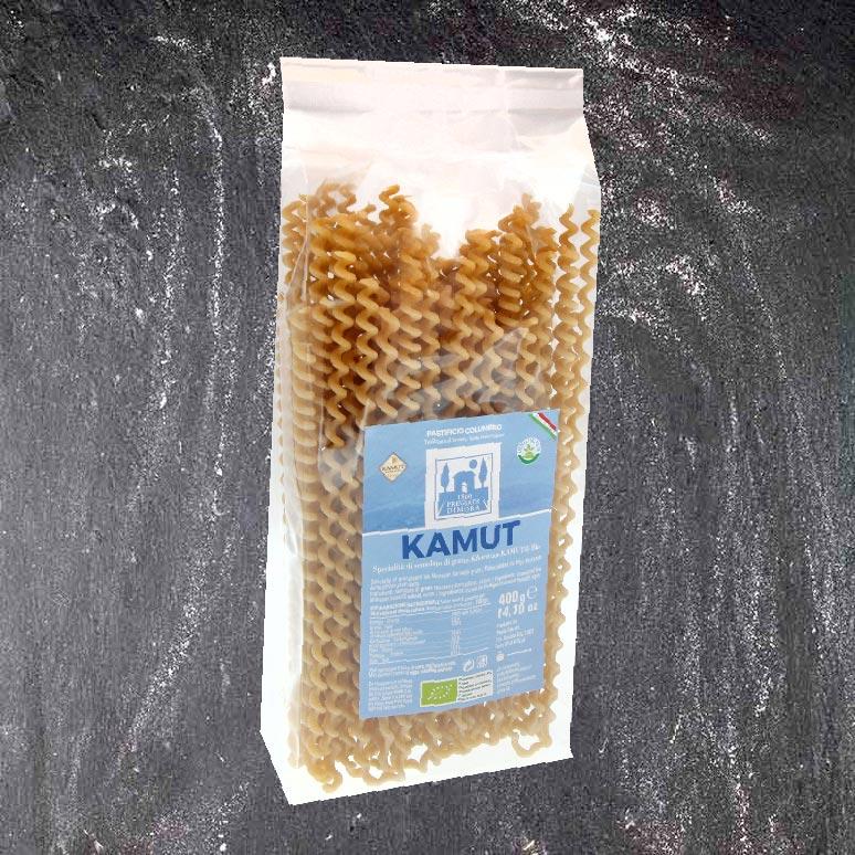 Fusilli con buco al Kamut